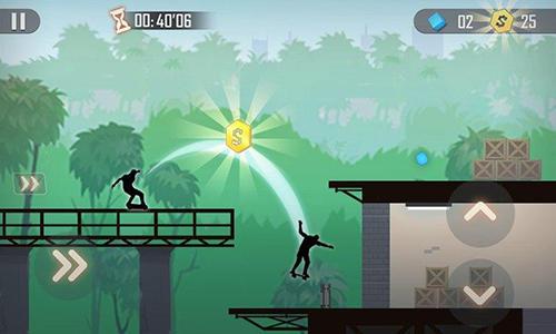 Arcade Shadow skate für das Smartphone