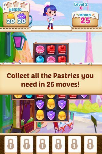 Arcade-Spiele: Lade Cupcake Mania auf dein Handy herunter