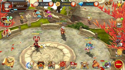 RPG Red: Three kingdoms for smartphone