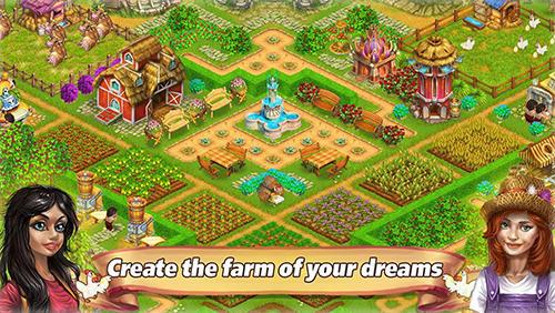 Farm tribe online: Floating Island Screenshot