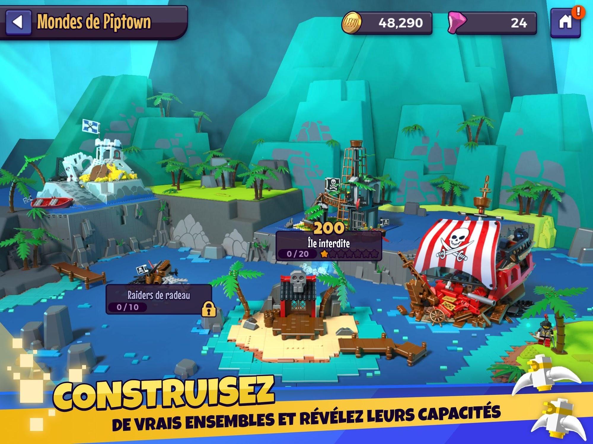 LEGO® Legacy: Heroes Unboxed capture d'écran 1