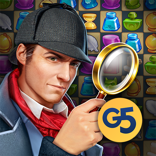 Иконка Sherlock: Hidden Match-3 Cases