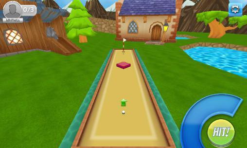 Online Golf clash für das Smartphone