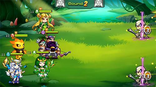 Endless saga screenshot 4