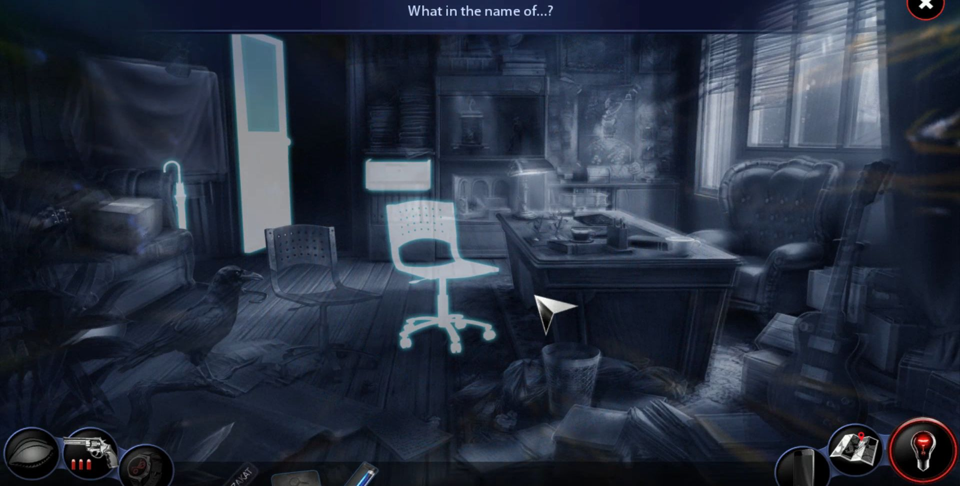 Adam Wolfe: Dark Detective Mystery Game (Full) screenshot 1