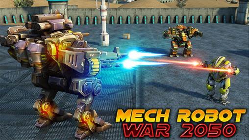 Mech robot war 2050 screenshot 1