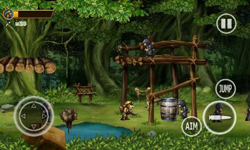 Soldiers Rambo 2: Forest war pour Android