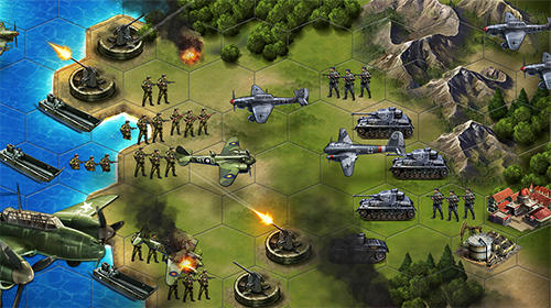 WW2: Strategy commander. Conquer frontline für Android