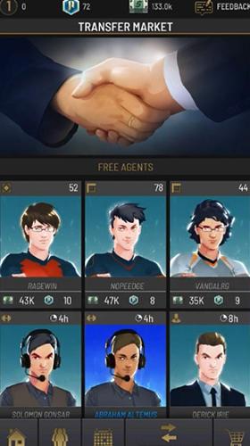Rivals: eSports MOBA manager captura de pantalla 1