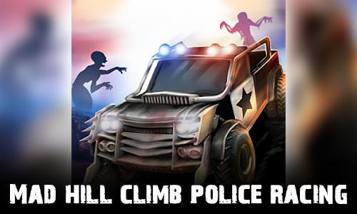 Mad hill climb police racing icon