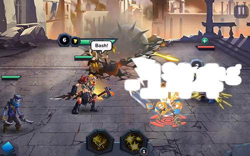 RPG Age of heroes: Conquest für das Smartphone