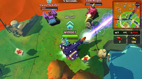 Captura de tela PvPets: Tank battle royale no iPhone