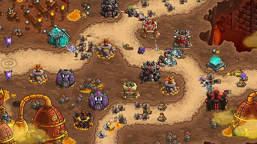 Kingdom rush vengeance captura de pantalla 1
