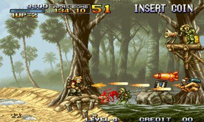 Actionspiele Metal Slug II für das Smartphone