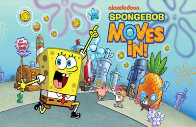 logo SpongeBob Moves In