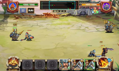 Onlinespiele Clan war für das Smartphone