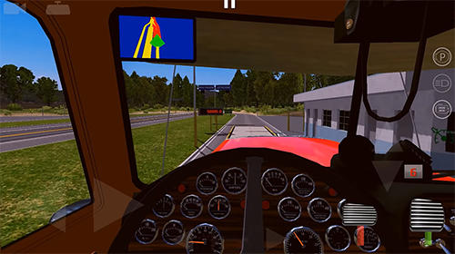 World truck driving simulator for Android