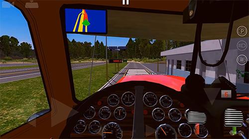 World truck driving simulator für Android