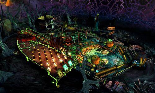 Arcade-Spiele: Lade Halloween Flipper auf dein Handy herunter