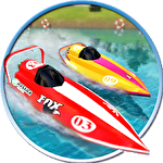 Powerboat race 3D icon