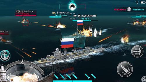 Schiffe Warship fury: World of warships auf Deutsch