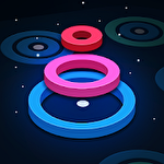 Stackz: Put the rings on. Color puzzle icon