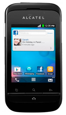 Alcatel OneTouch 903D apps