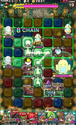 3 Gewinnt-Spiele Chain dungeons auf Deutsch