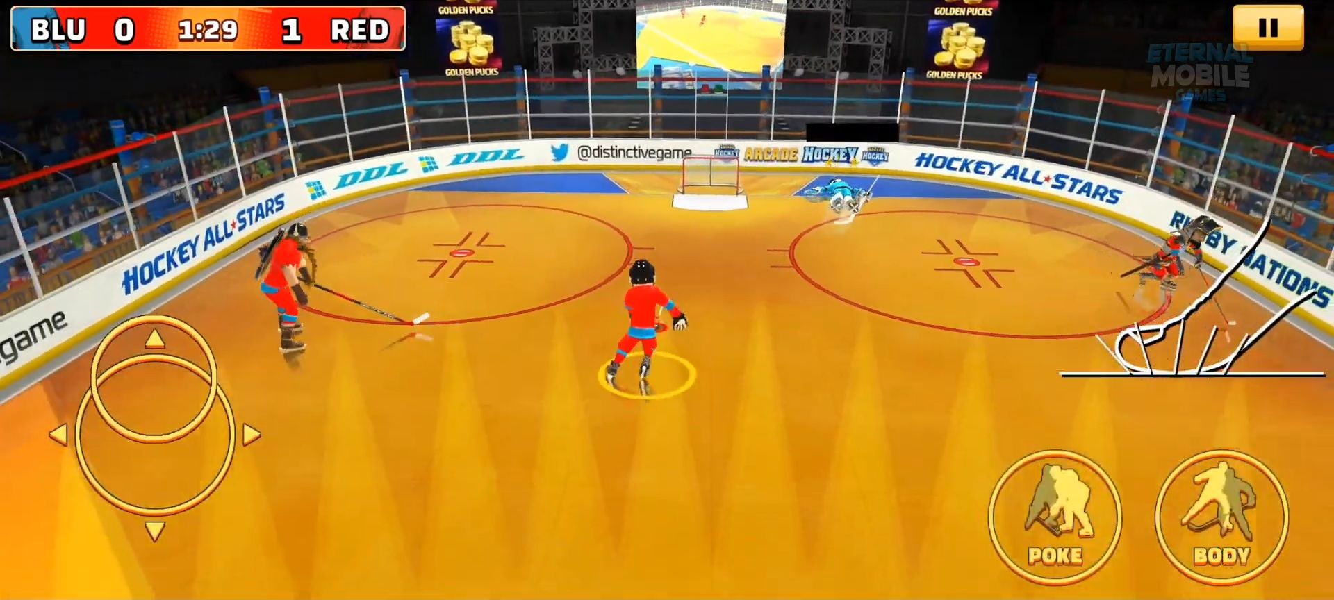 Arcade Hockey 21 for Android