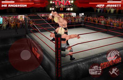 Screenshot TNA Wrestling iMPACT on iPhone