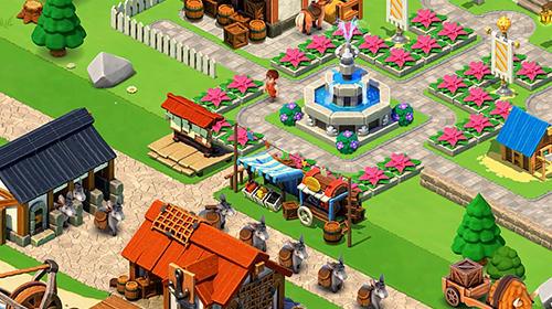 Online-Strategiespiele Trade town by Cheetah games auf Deutsch