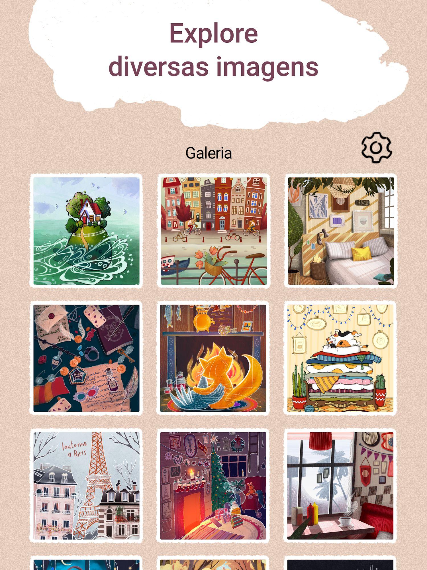 Art Puzzle - Live Jigsaw Coloring captura de tela 1