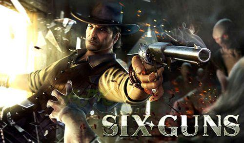 logo Seis pistolas: Rnfrentamiento de pandillas