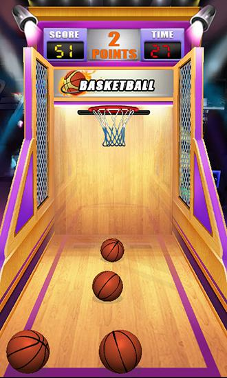 Arcade Basketball: Shoot game für das Smartphone