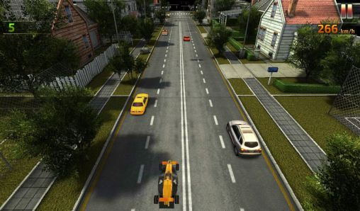 Grand prix traffic city racer en español