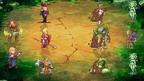 RPG: Lade Dungeon Rushers auf dein Handy herunter