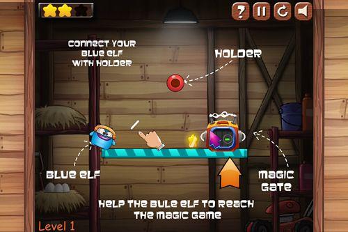 Arcade: Lade Blauer Elf: Escape Adventure auf dein Handy herunter