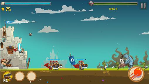 Arcade Kingdom defense: Epic hero war für das Smartphone