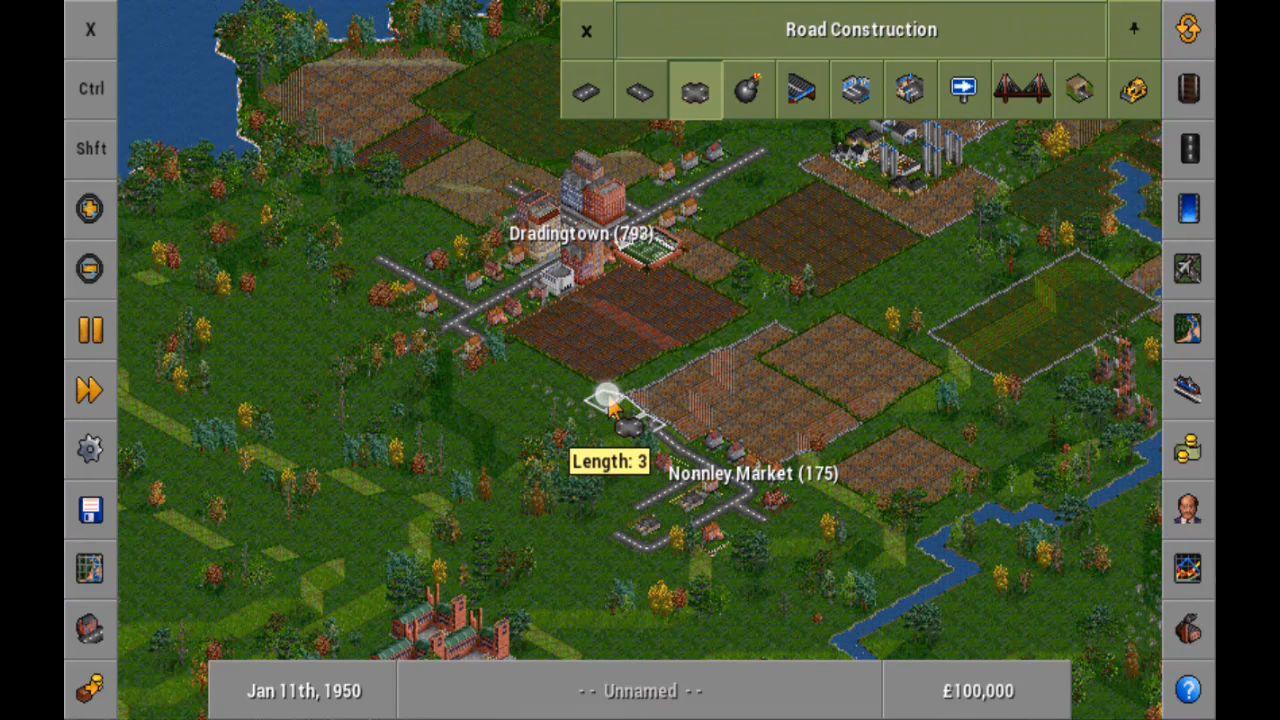 OpenTTD screenshot 1