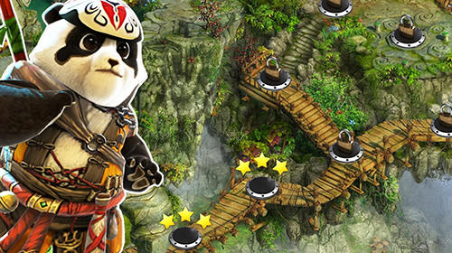 Arcade Ninja panda dash für das Smartphone
