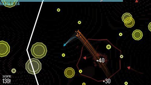 Screenshot Partikelfluss auf dem iPhone