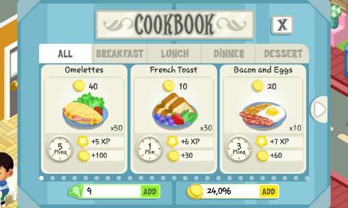 Restaurant story: Summer camp Screenshot