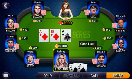 Glücksspiele Texas holdem: Poker series für das Smartphone