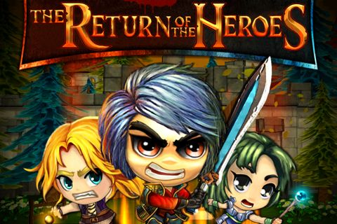 logo The return of the heroes