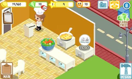 Simulation games Restaurant story: Earth day for smartphone