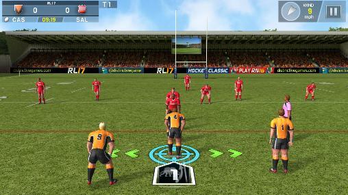 Jogos de Futebol Americano Rugby league 17 em portugues
