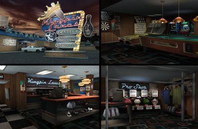 Screenshot Bowling-Bahn auf dem iPhone