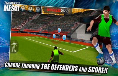 Training with Messi – Official Lionel Messi Game for iPhone