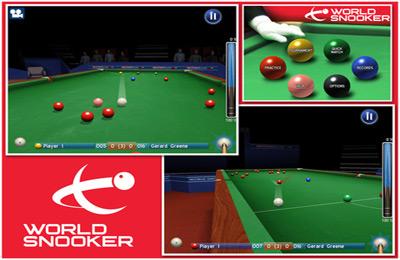 Snooker Weltmeisterschaft für iPhone