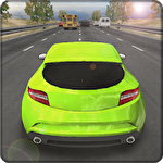 Tuning racing 3D icon